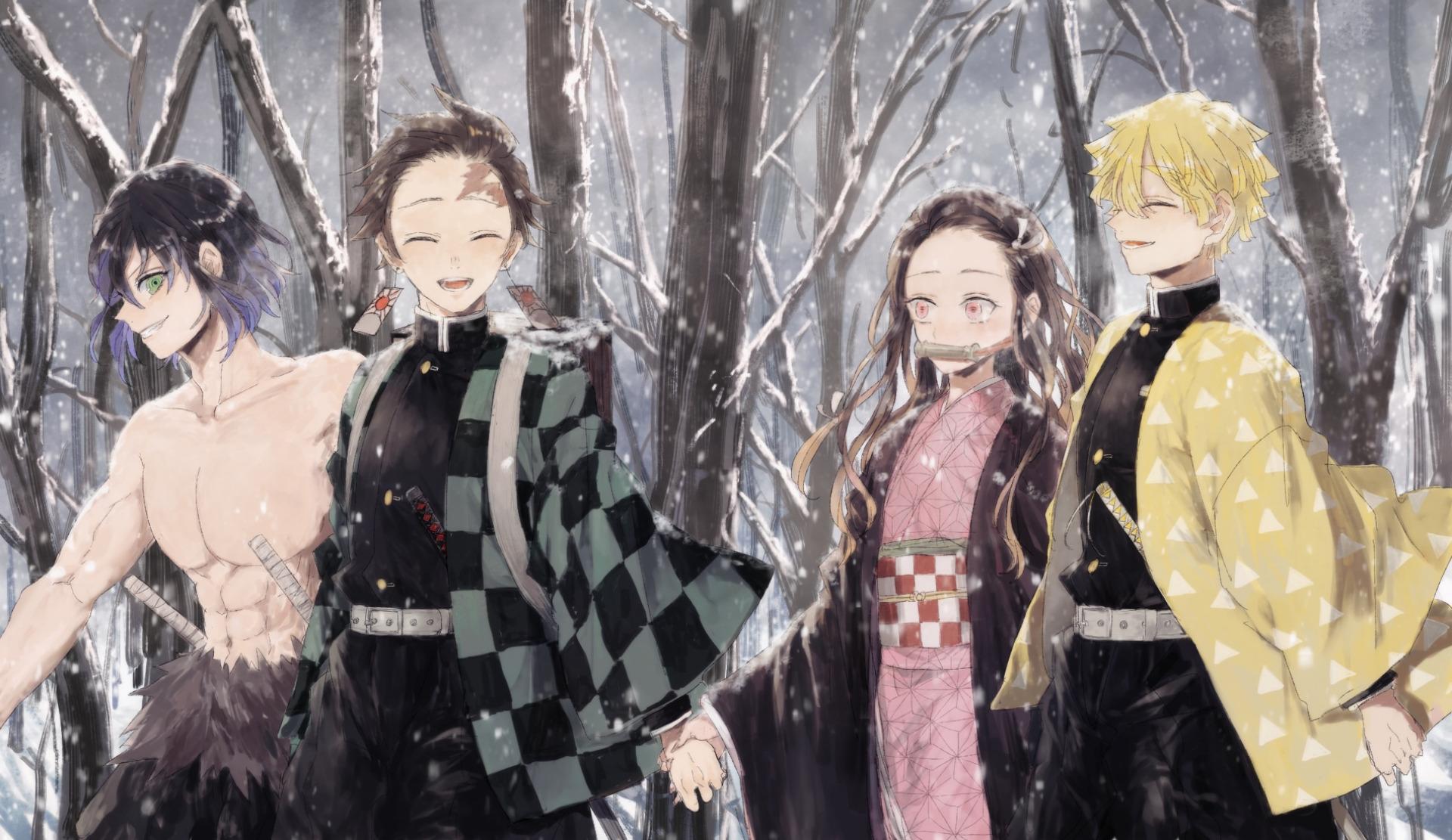 Demon Slayer: Kimetsu no Yaiba HD Wallpaper  Background Image  1920x1111  ID:1000160