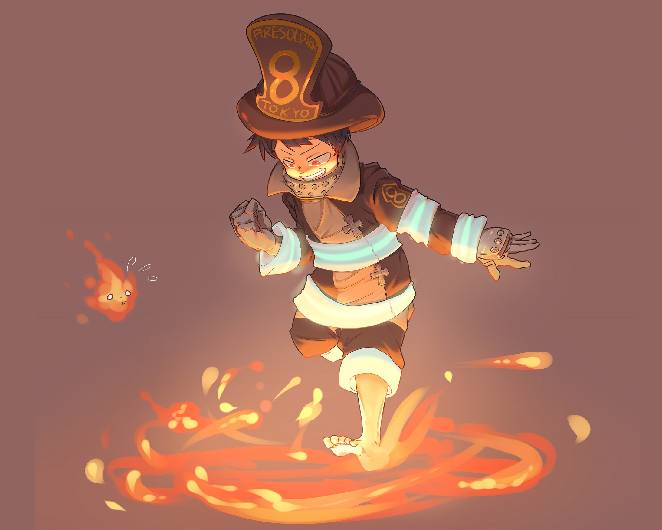 Fire Force HD Wallpaper | Background Image | 2188x1752 ...