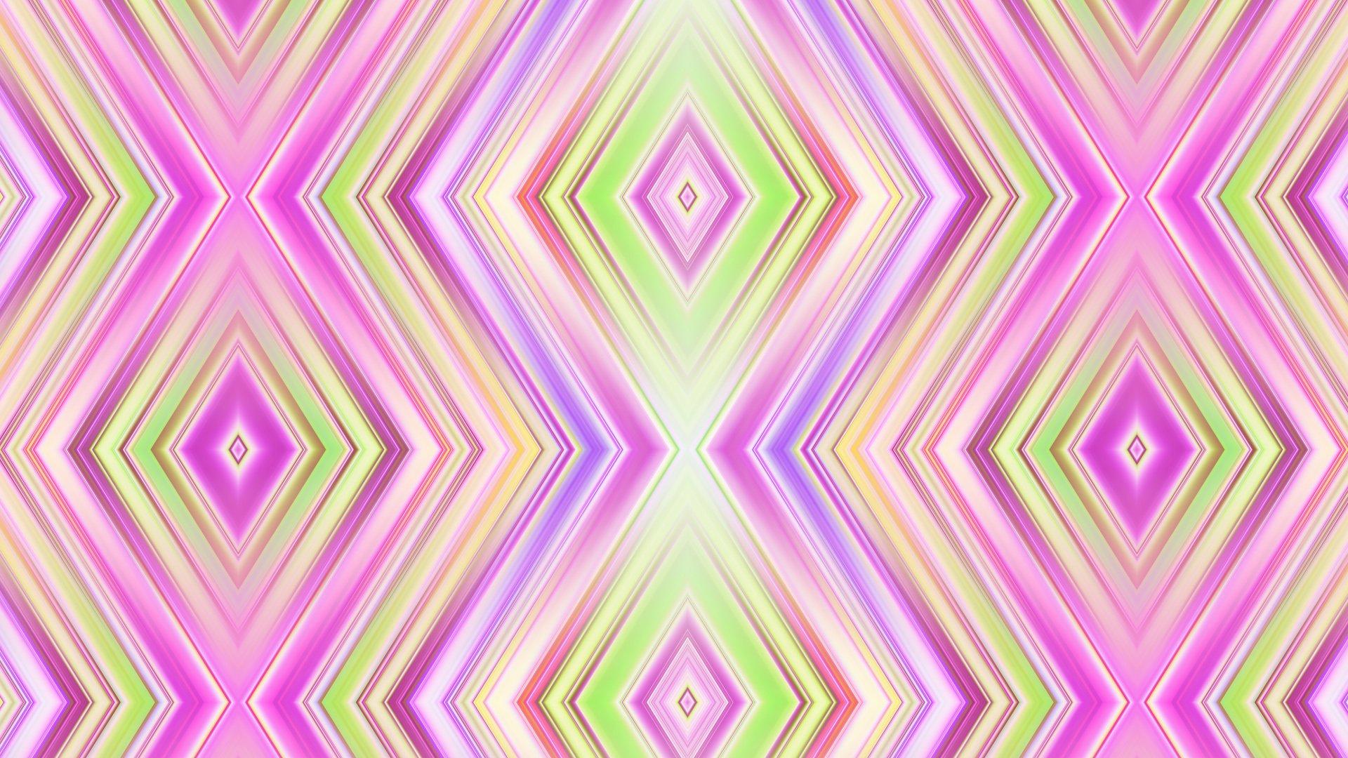 Pastel Gradient Shapes Hd Wallpaper Hintergrund