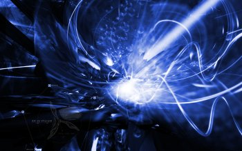 Abstract - Blue Wallpapers and Backgrounds ID : 10062