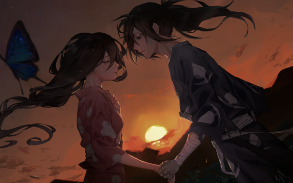 Anime Dororo Hyakkimaru Mio HD Wallpaper | Background Image