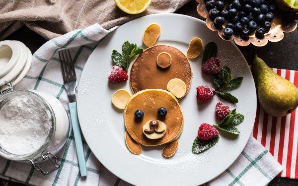 Alimento Desayuno Bodegón Panqueque Fondo de pantalla HD | Fondo de Escritorio