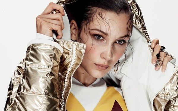 Celebrity Bella Hadid Models United States Model American Blue Eyes HD Wallpaper   Background Image