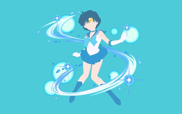 Anime Sailor Moon Sailor Mercury HD Wallpaper | Background Image