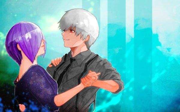 Anime Tokyo Ghoul Ken Kaneki Touka Kirishima HD Wallpaper | Background Image