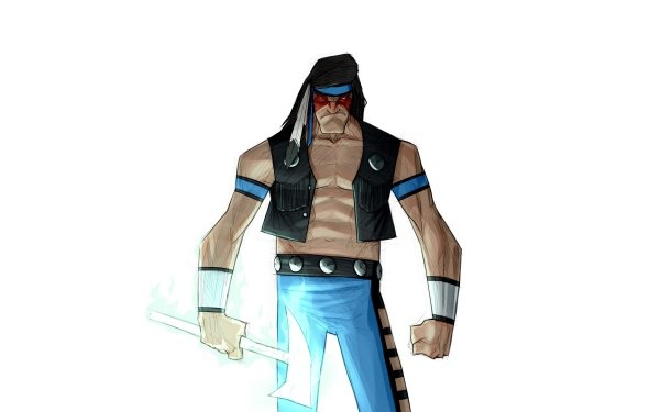 Video Game Mortal Kombat Nightwolf HD Wallpaper   Background Image