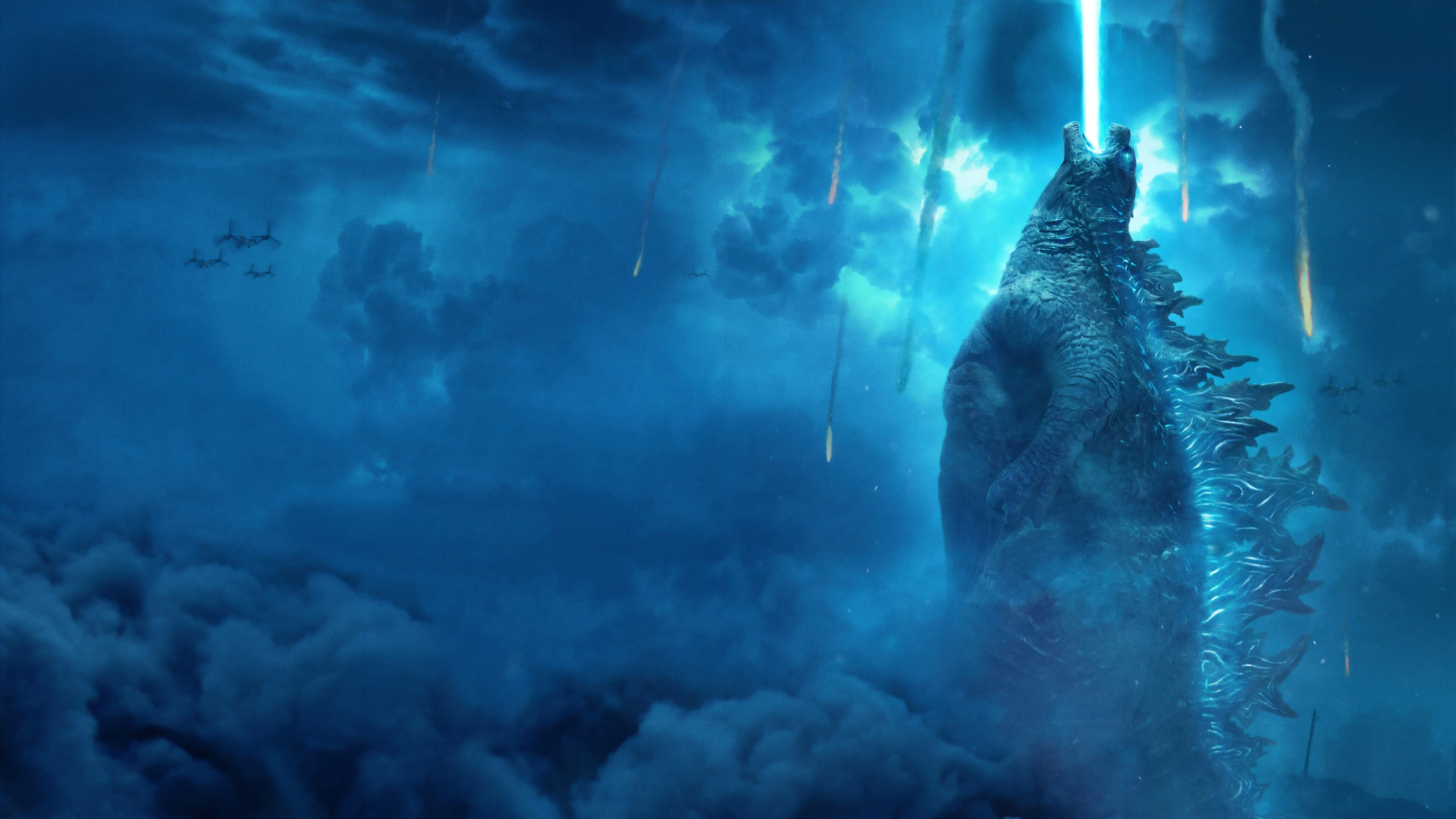 Godzilla King Of The Monsters 8k Ultra Hd Wallpaper Background