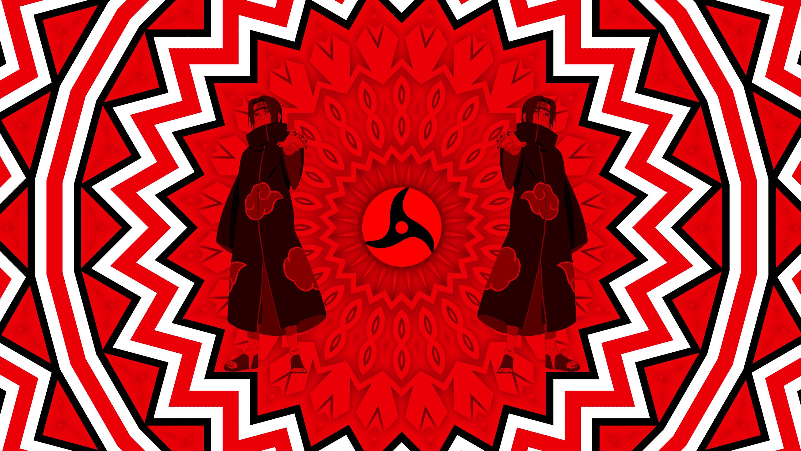 Itachi Uchiha And The Sharingan Hd Wallpaper Background Image 2560x1440 Id 1011194 Wallpaper Abyss
