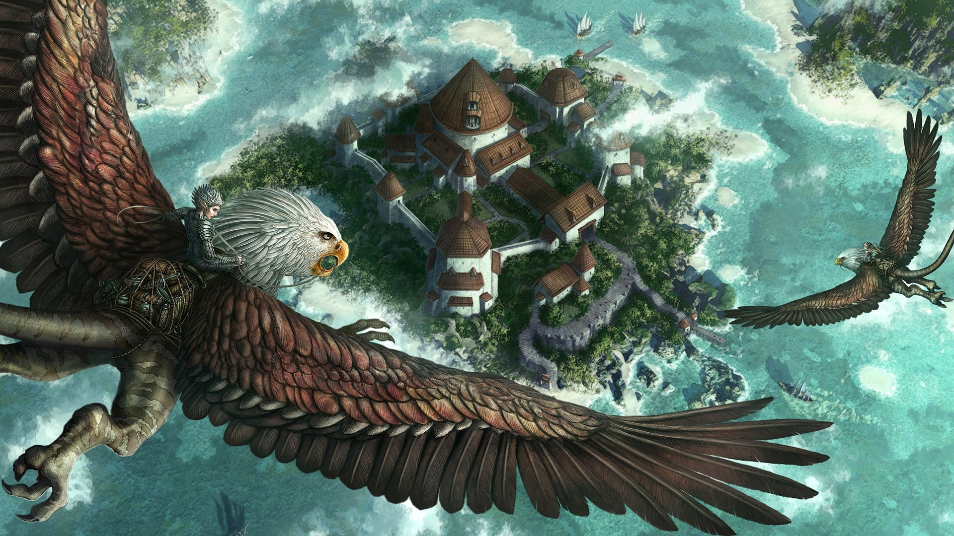 Fantasy - Bird  Wallpaper