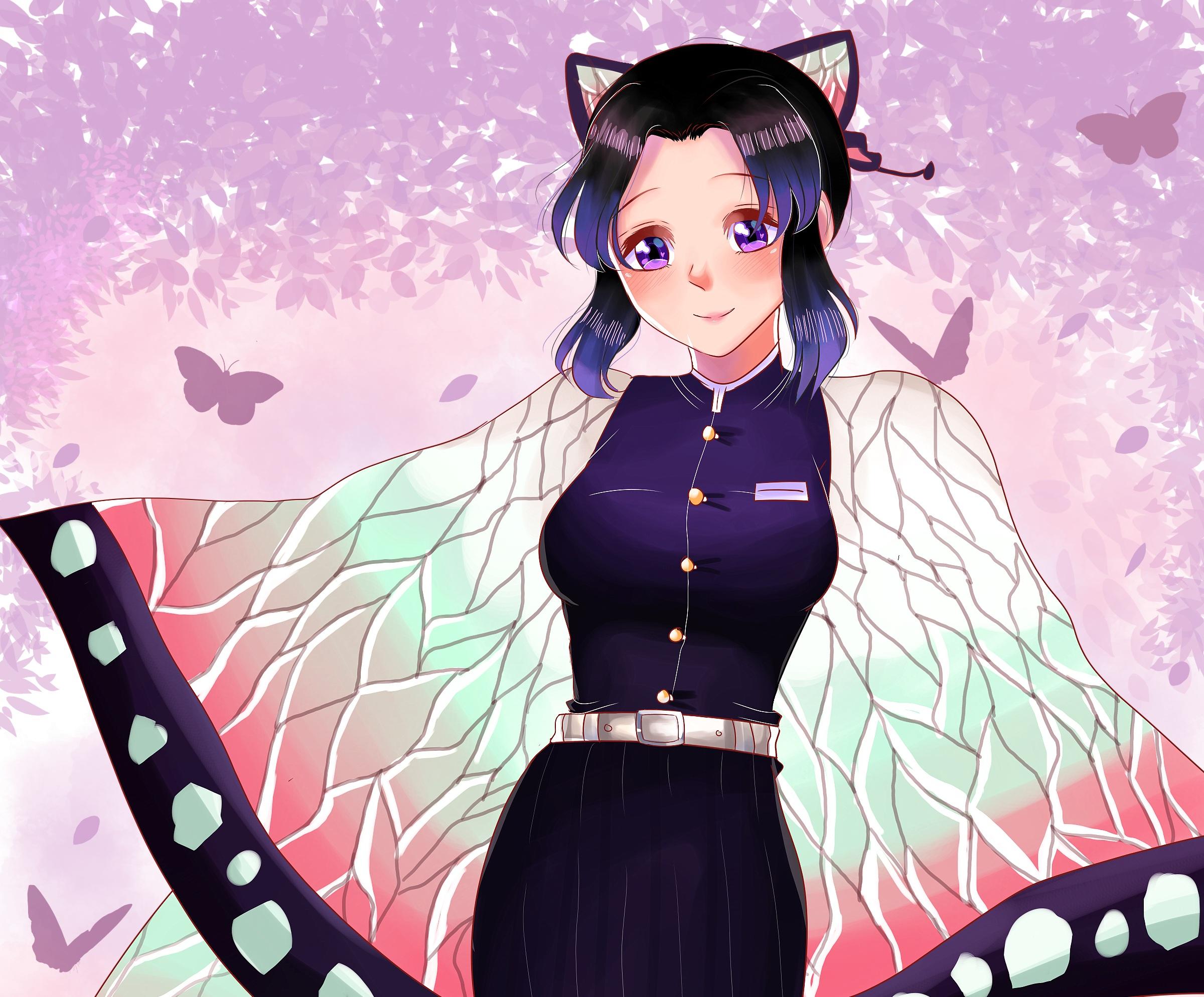 Demon Slayer: Kimetsu no Yaiba HD Wallpaper   Background Image   2400x1988   ID:1014394 ...