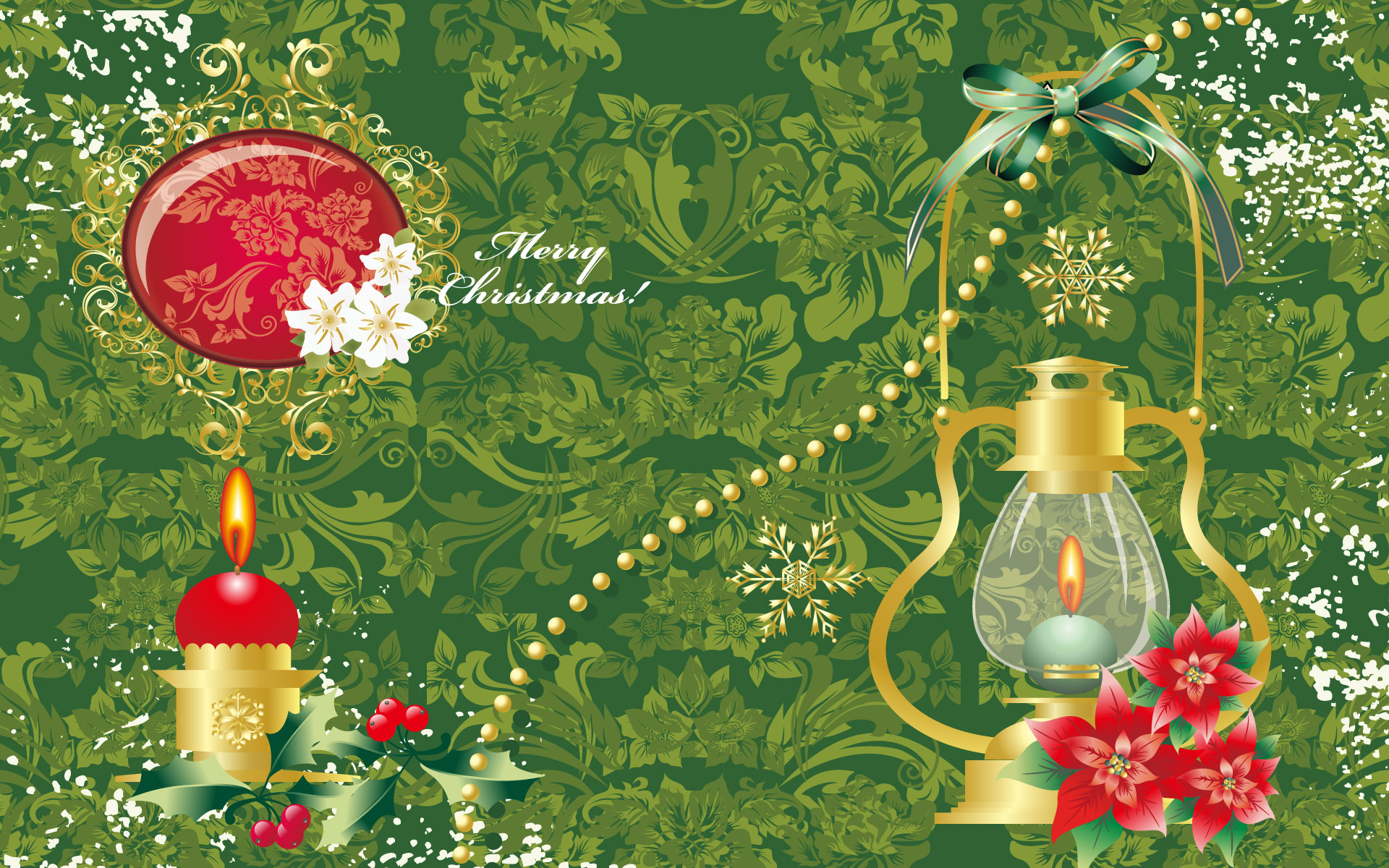 Gmail themes holiday - Holiday Christmas Christmas Ornaments Merry Christmas Wallpaper