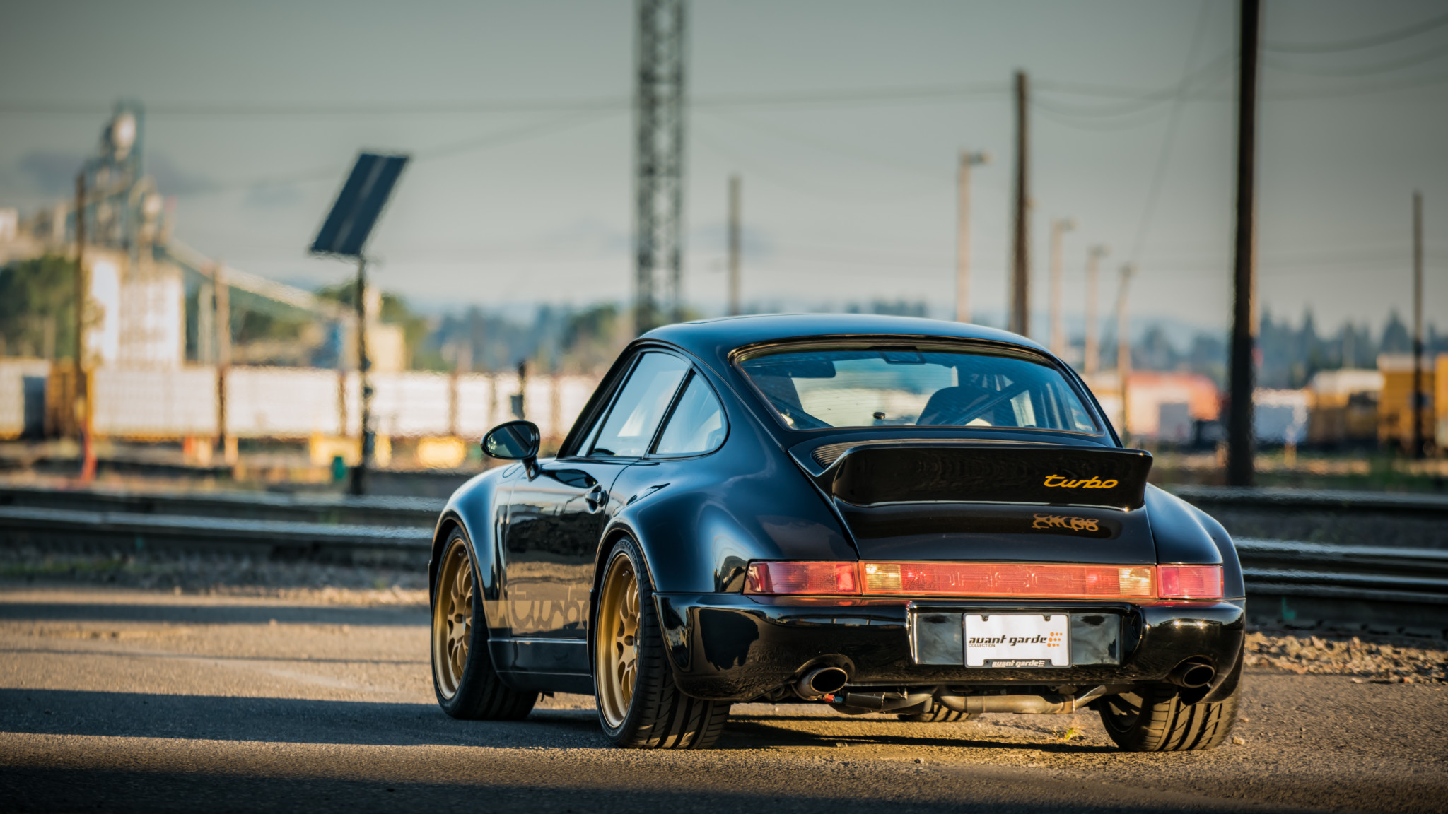1991 Porsche 964 Turbo Hd Wallpaper Background Image 2048x1152 Id 1018376 Wallpaper Abyss