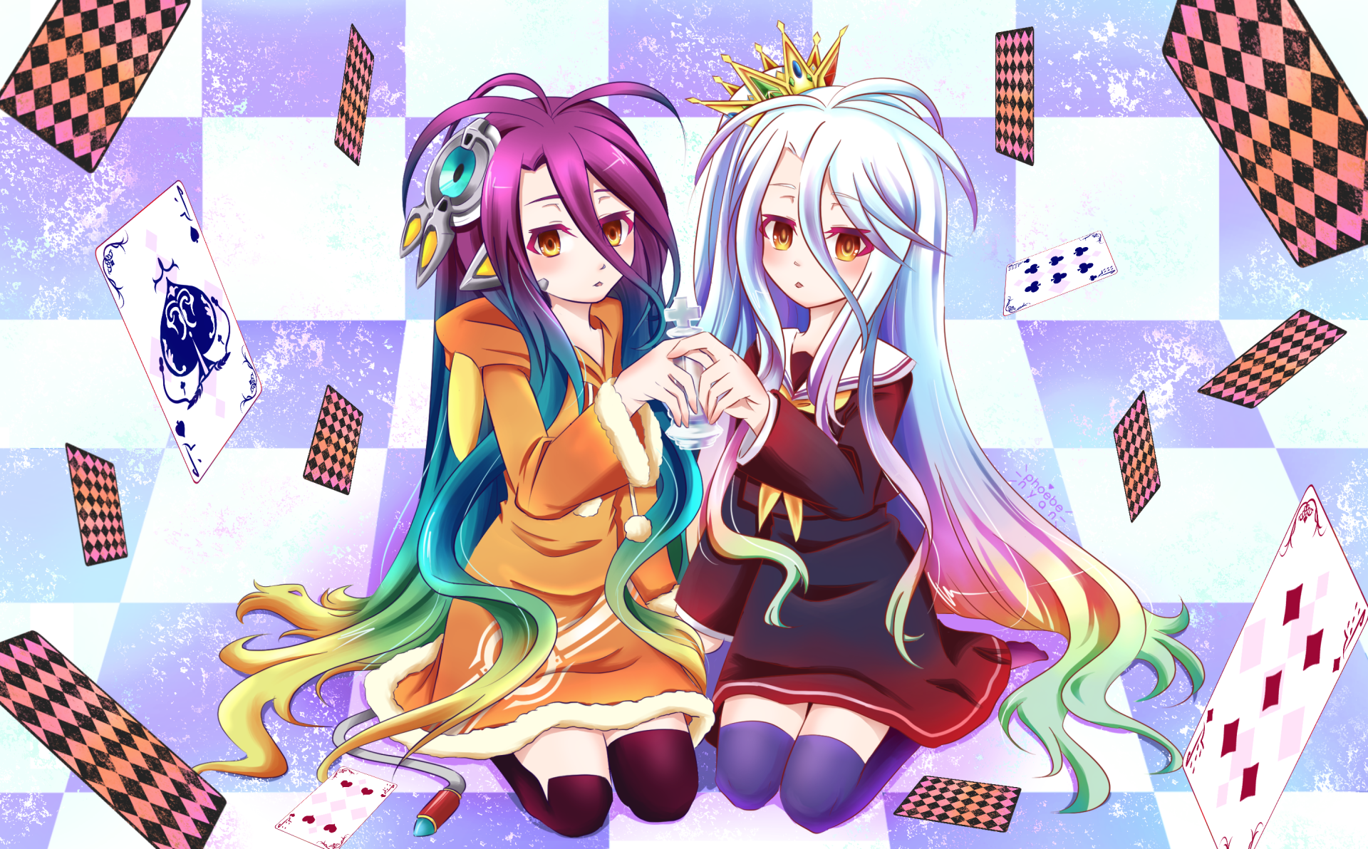 No Game No Life Hd Wallpaper Background Image 1920x1192 Id