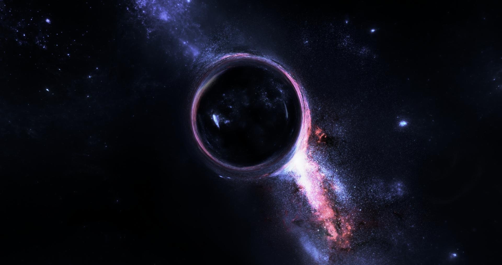 Black Hole HD Wallpaper | Background Image | 2048x1080 ...