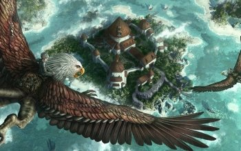 Fantasy - Bird Wallpapers and Backgrounds