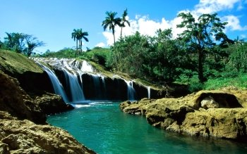 Earth - El Nicho Waterfalls Wallpapers and Backgrounds ID : 101662