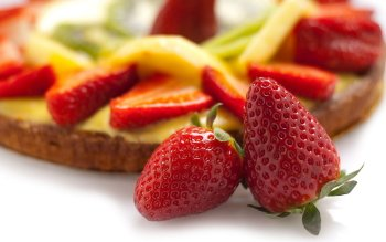 Alimento - Strawberry Wallpapers and Backgrounds ID : 101750