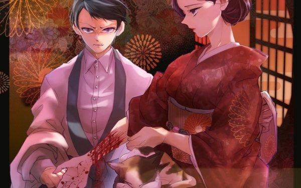 Anime Demon Slayer: Kimetsu no Yaiba Yushiro Tamayo Fondo de pantalla HD | Fondo de Escritorio