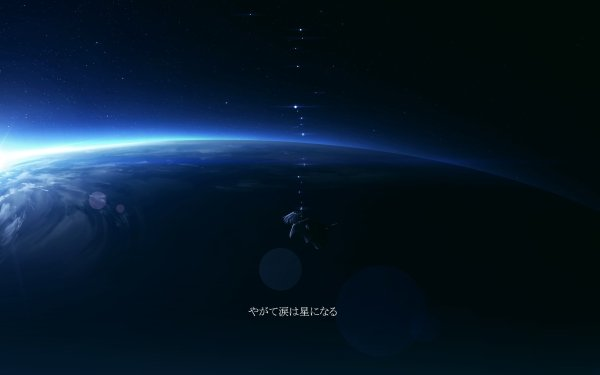 Anime Original Planet HD Wallpaper | Background Image