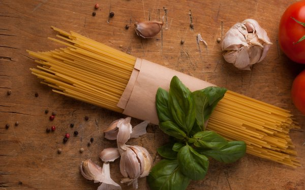 Food Pasta Garlic Still Life Spaghetti HD Wallpaper   Background Image