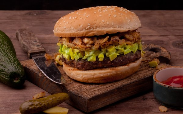 Food Burger Still Life Pickle HD Wallpaper | Background Image