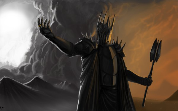 Fantasy Lord of the Rings The Lord of the Rings Sauron HD Wallpaper | Background Image