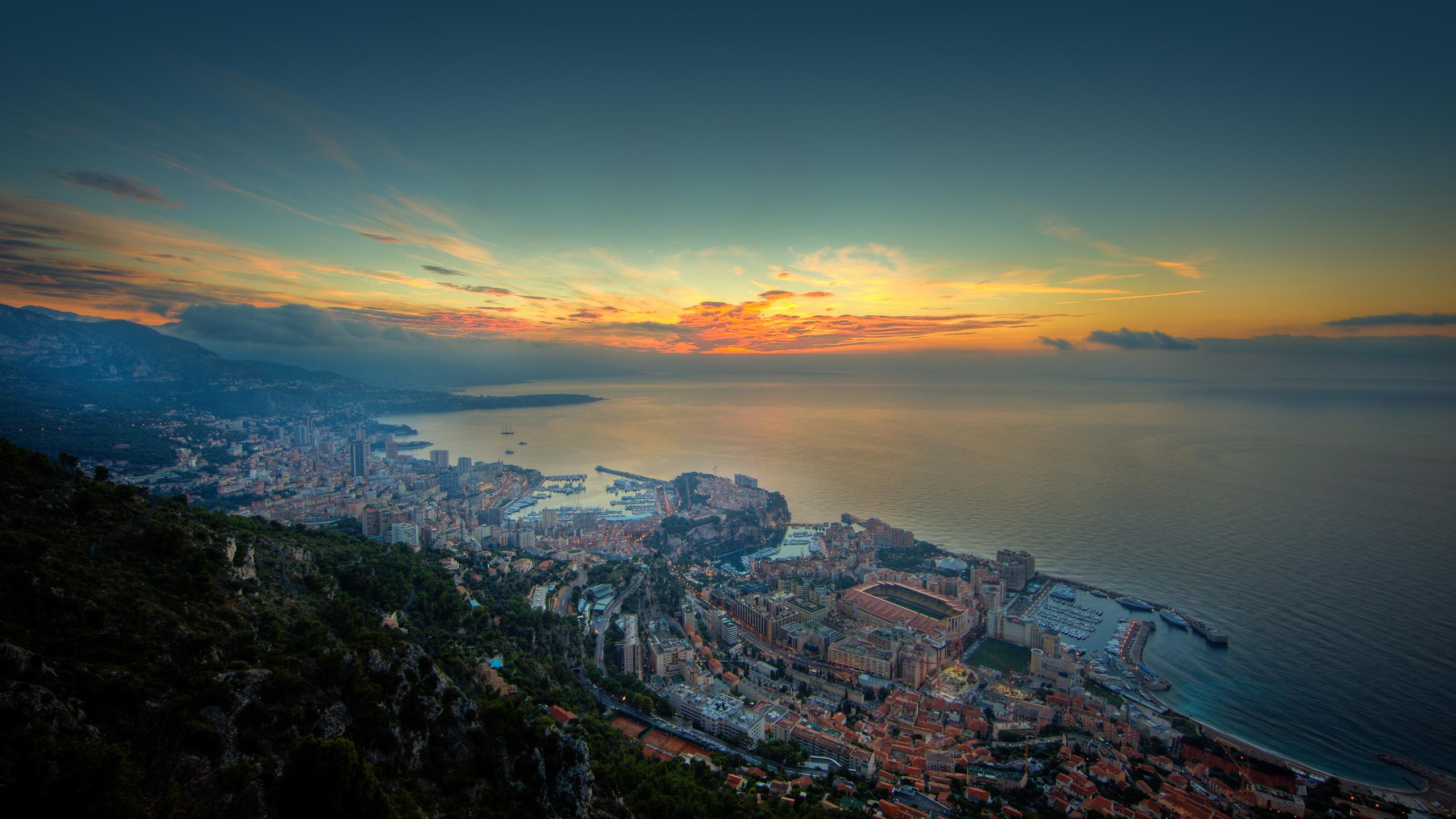 Construction Humaine - Monaco  Fond d'écran