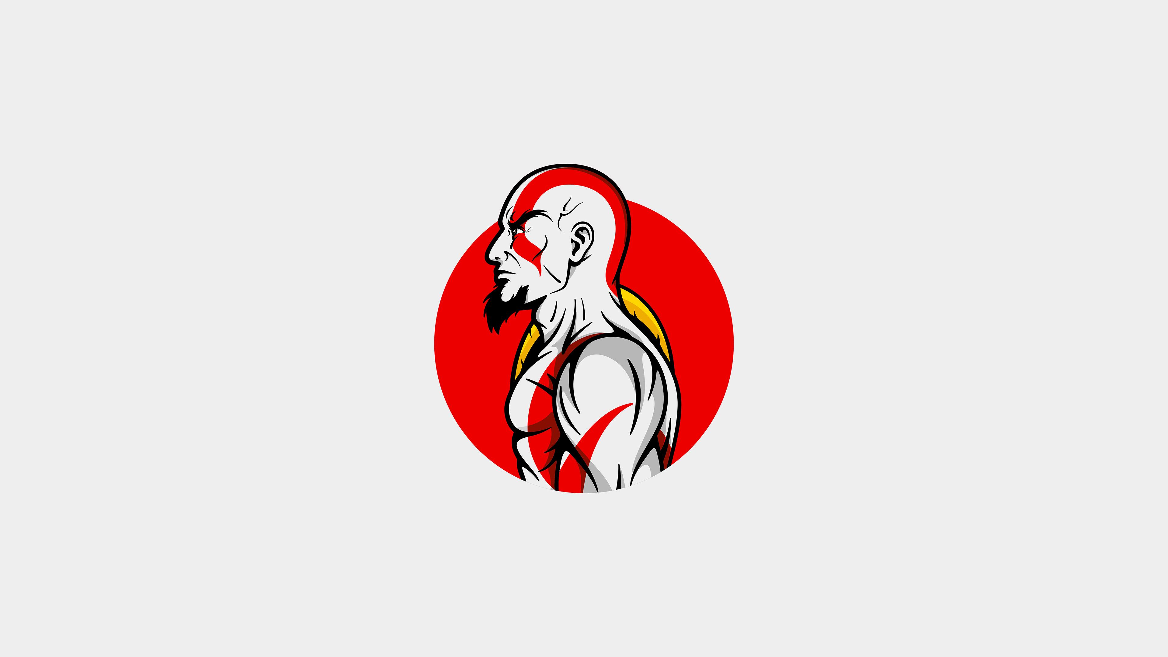God Of War 4k Ultra Fondo De Pantalla Hd Fondo De