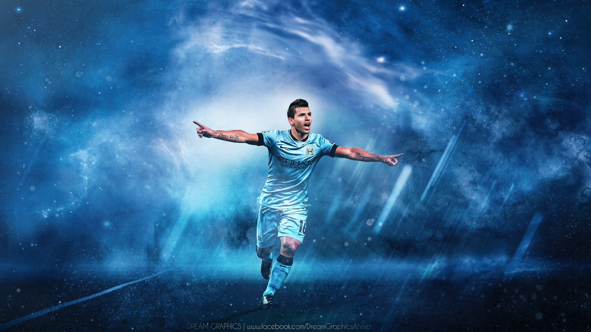 Sergio Agüero Hd Wallpaper Background Image 1920x1080