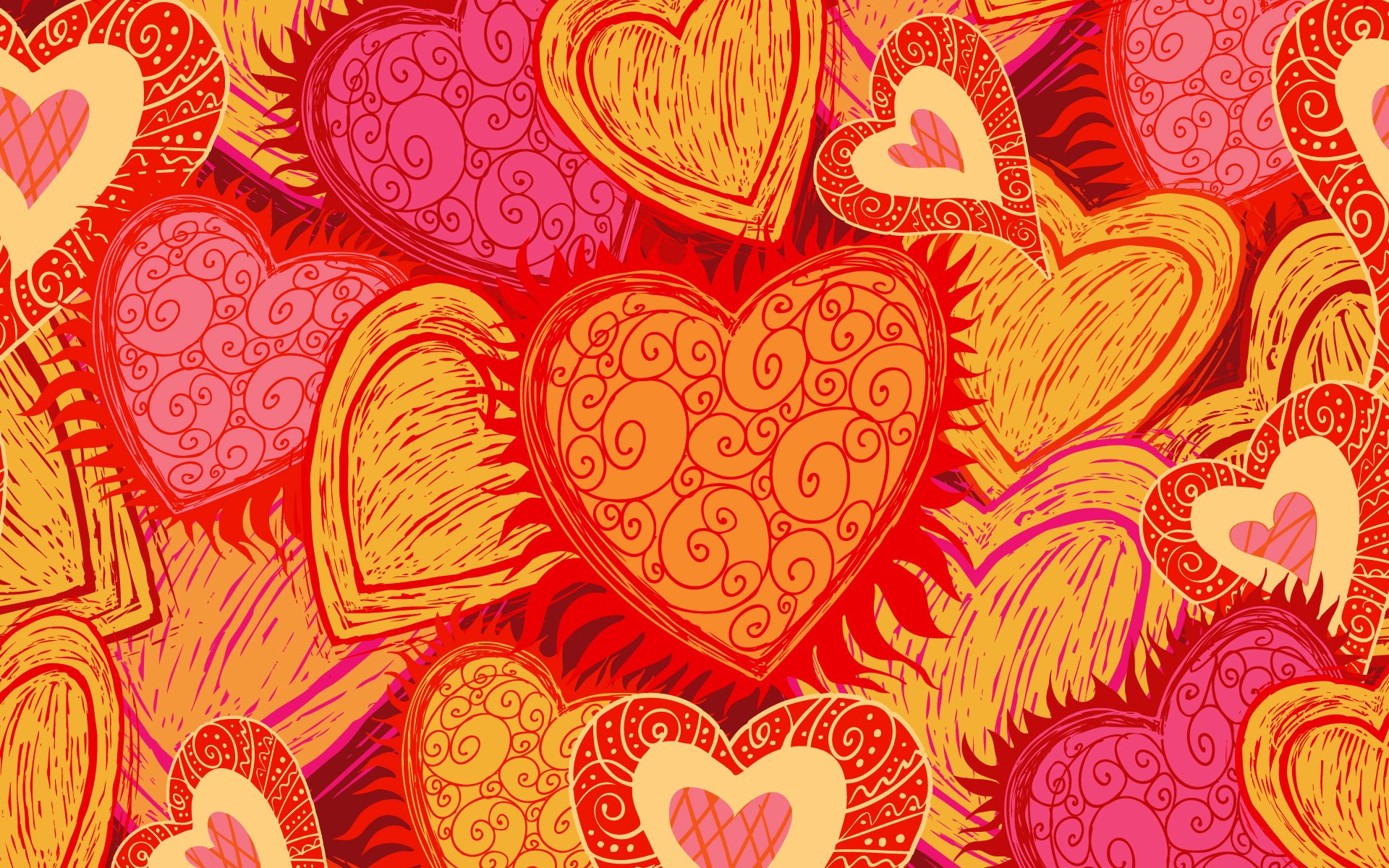 Holiday - Valentine's Day  Heart Wallpaper