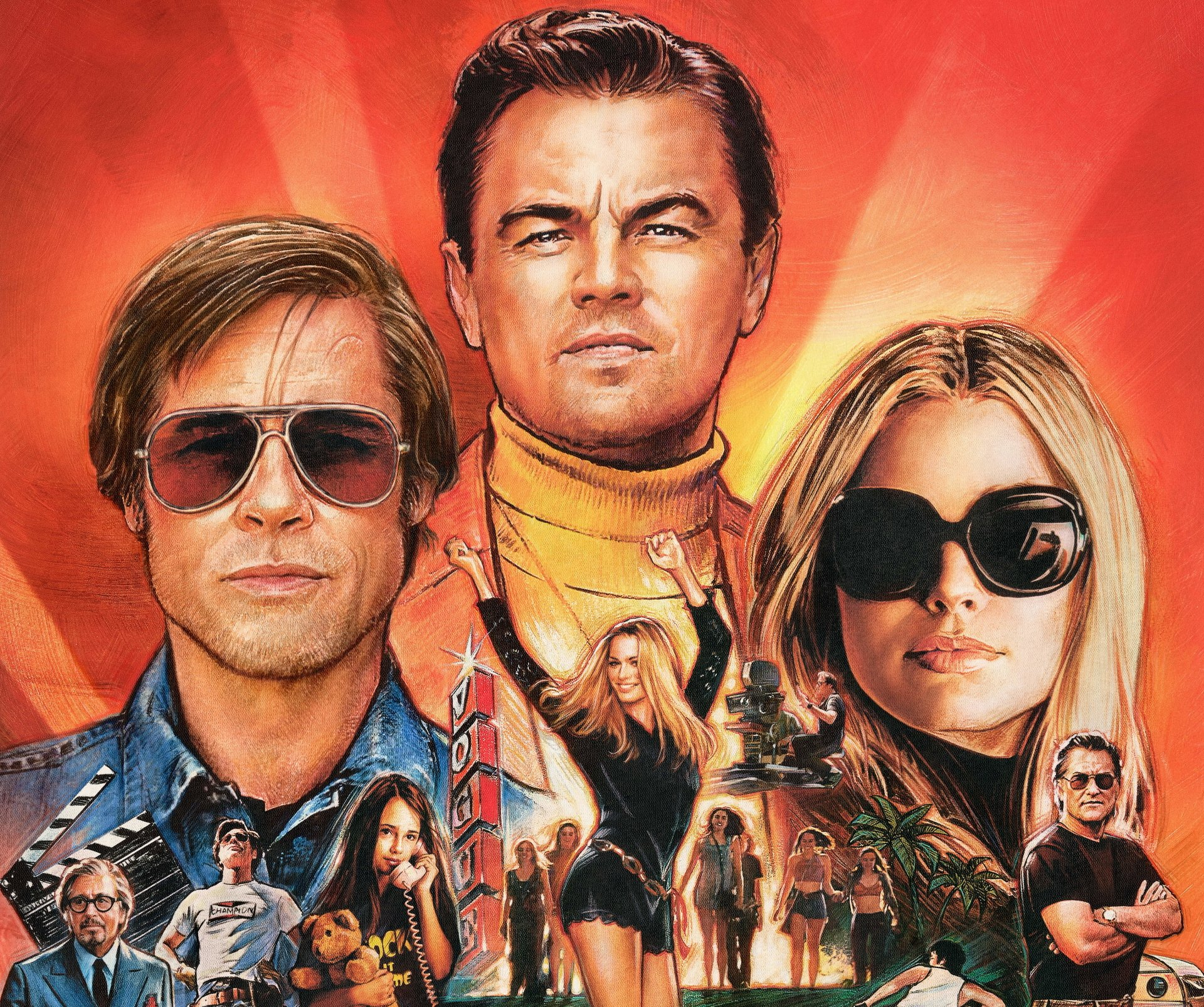 27 Once Upon A Time In Hollywood Hd Wallpapers Background Images