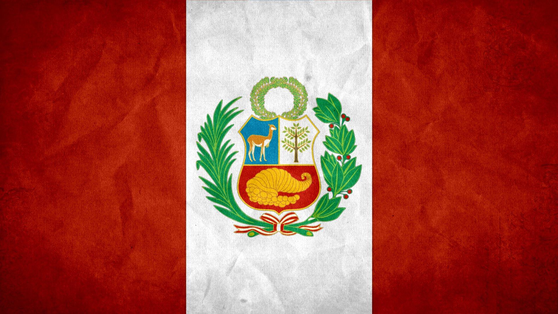 Flag Of Peru Fondo De Pantalla Hd Fondo De Escritorio 1920x1080 Id 1026641 Wallpaper Abyss
