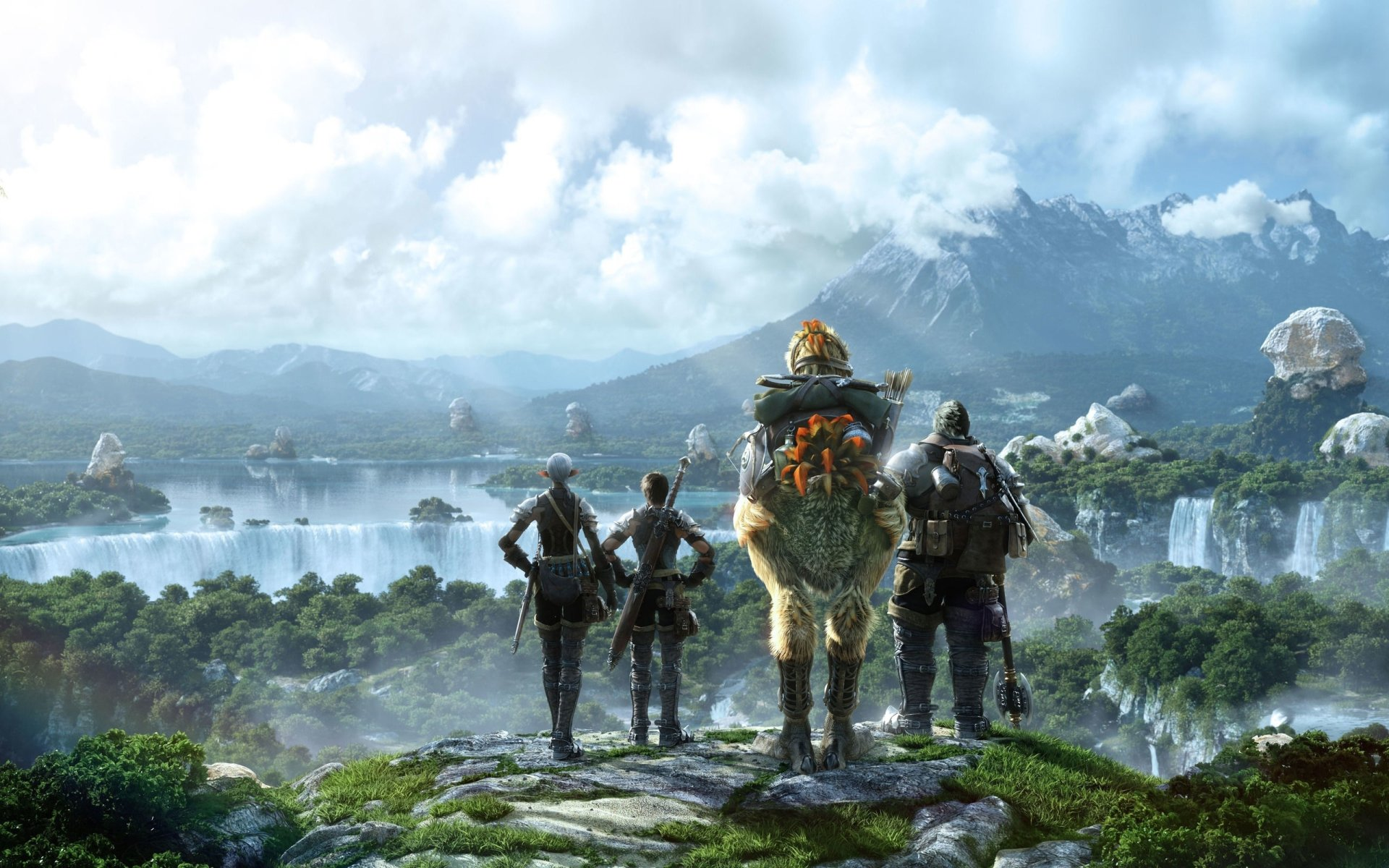 134 Final Fantasy XIV HD Wallpapers