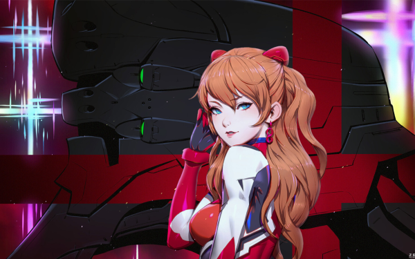 Anime Evangelion: 1.0 You Are (Not) Alone Evangelion Asuka Langley Sohryu HD Wallpaper | Background Image