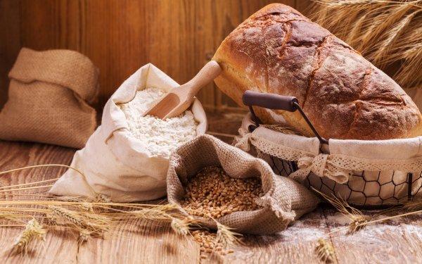 Food Bread Flour Still Life Baking HD Wallpaper | Background Image