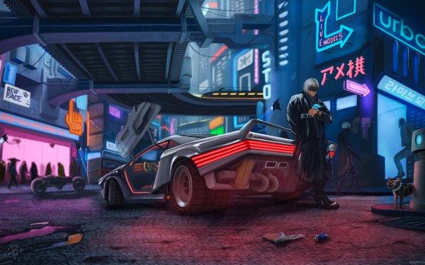 Videogioco Cyberpunk 2077 HD Wallpaper | Sfondo
