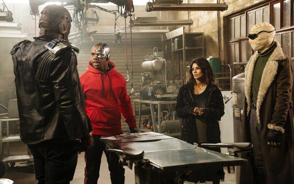 TV Show Doom Patrol Robotman Cyborg Crazy Jane Negative Man Diane Guerrero Victor Stone HD Wallpaper | Background Image