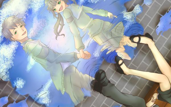 Anime ReLIFE Chizuru Hishiro Arata Kaizaki HD Wallpaper | Background Image