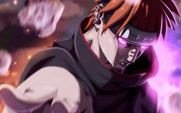 Anime Naruto Yahiko Pain Akatsuki Fondo de pantalla HD | Fondo de Escritorio