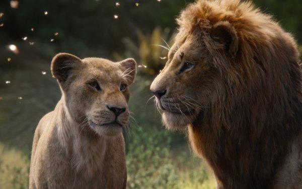Movie The Lion King (2019) Simba Nala HD Wallpaper | Background Image
