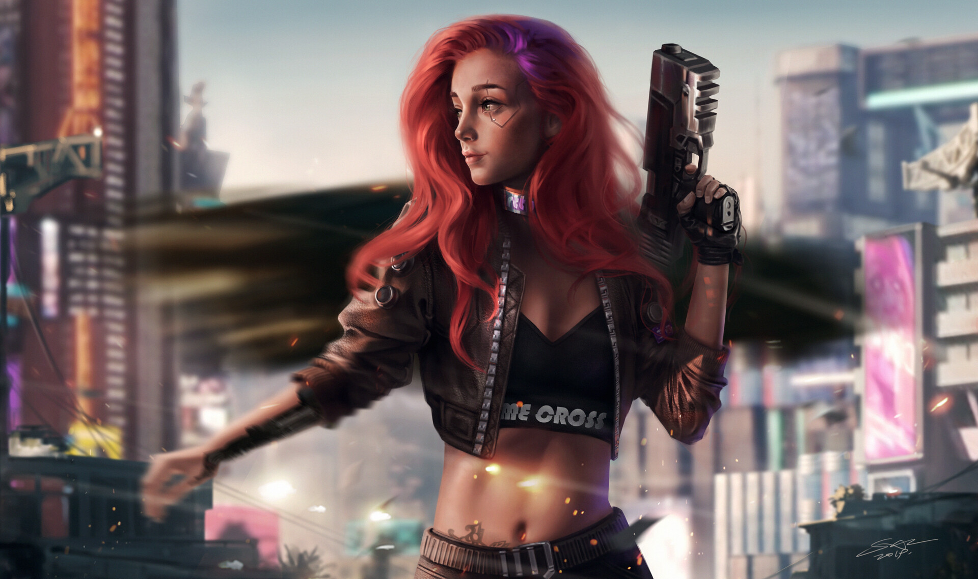 Cyberpunk 2077 Hd Wallpaper Background Image 1920x1138 Id 1033554 Wallpaper Abyss