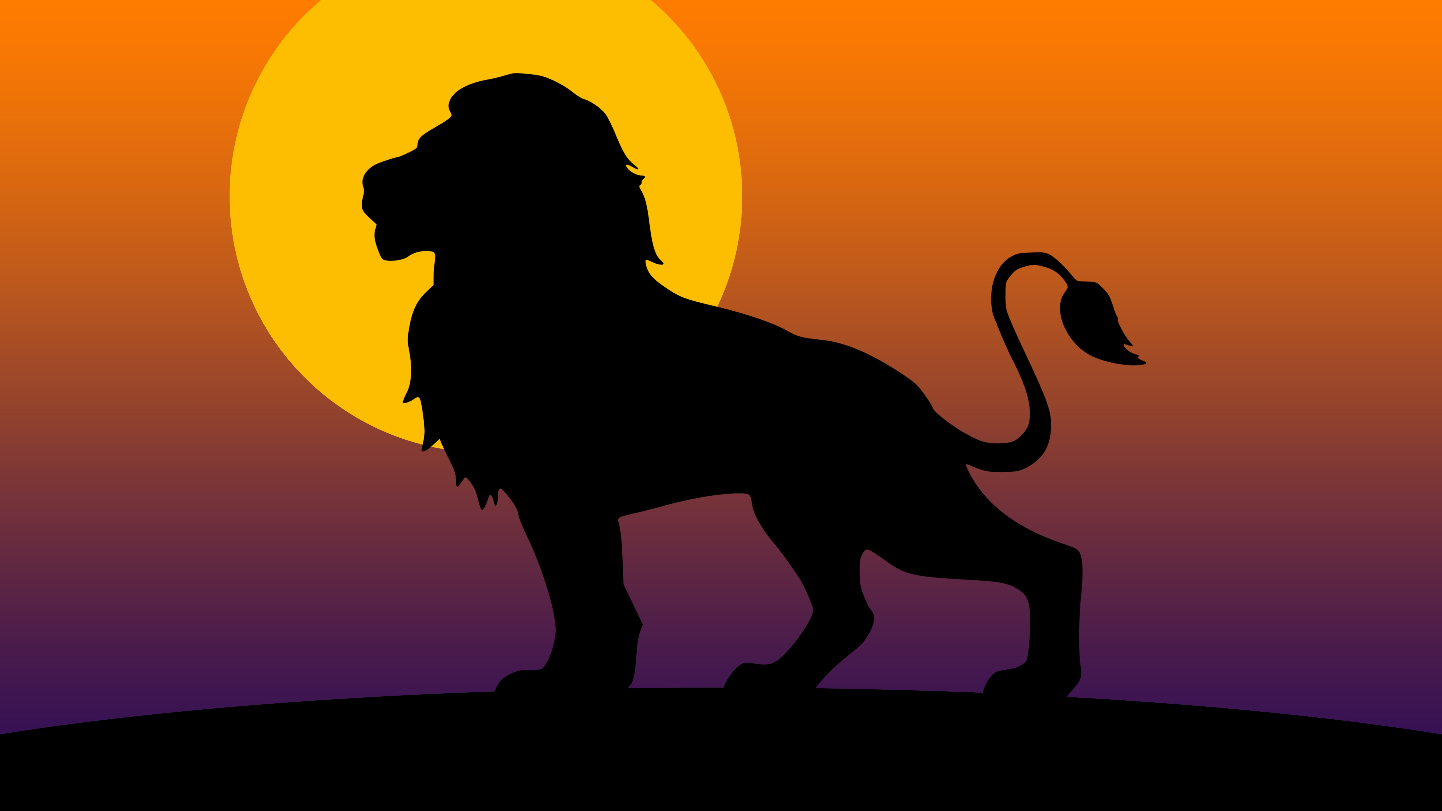 Lion Silhouette In The Sunset 5k Retina Ultra Hd Wallpaper Background Image 5760x3240 Id 1033615 Wallpaper Abyss Lion crown with sunglasses silhouette svg cut file. wallpaper abyss alpha coders