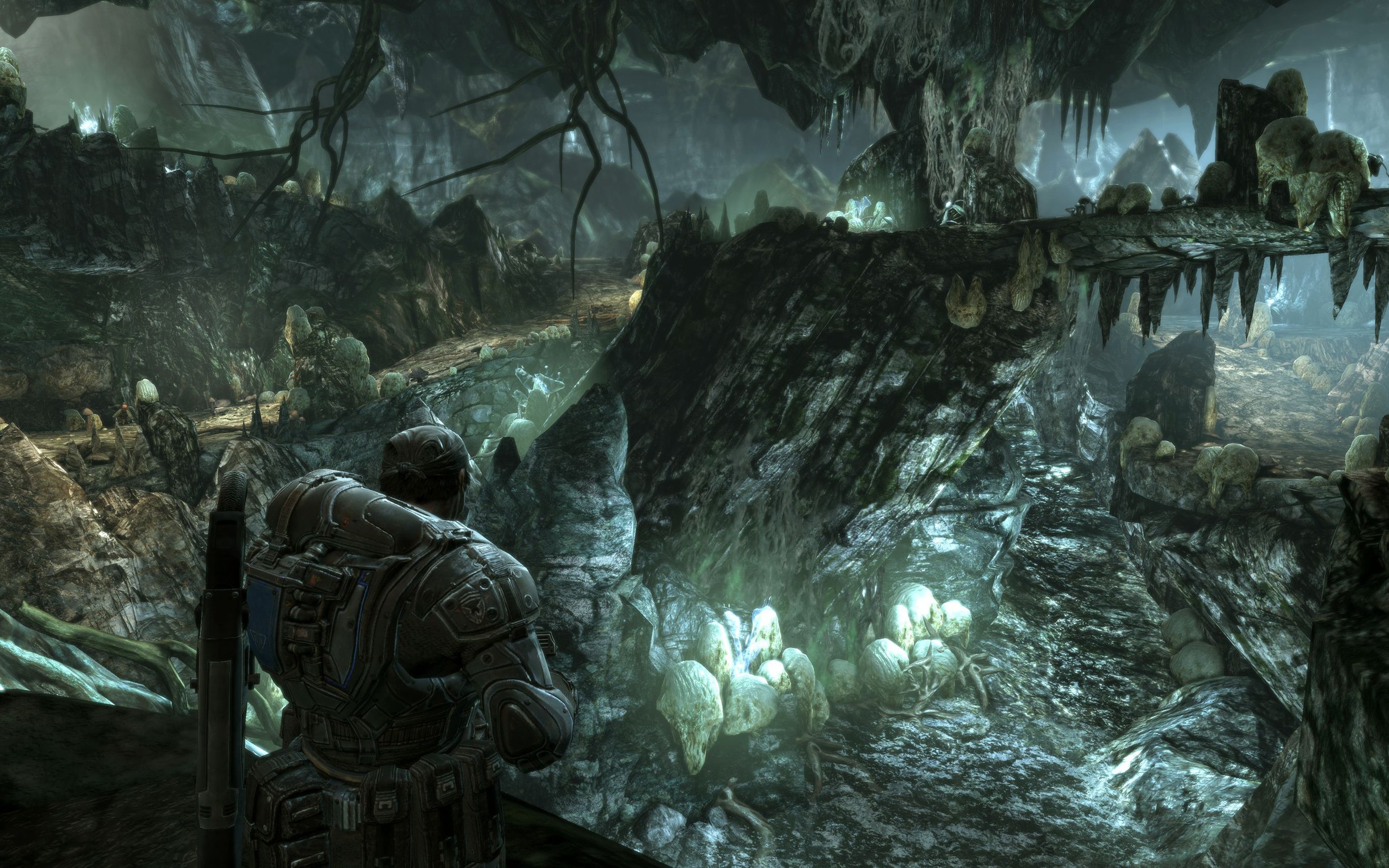 gears of war 2 full hd wallpaper and background image | 2560x1600