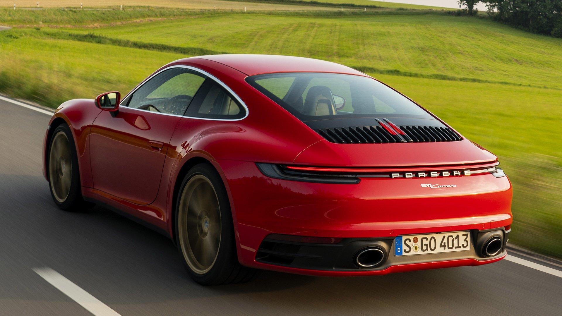 2019 Porsche 911 992 Carrera Papel De Parede Hd Plano De Fundo 1920x1080 Id 1039544 Wallpaper Abyss
