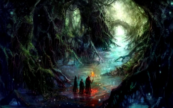 Fantasy - Foresta Wallpapers and Backgrounds ID : 103332