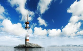 Man Made - Lighthouse Wallpapers and Backgrounds ID : 103580