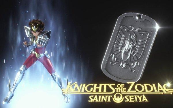 Anime Knights of the Zodiac: Saint Seiya Pegasus Seiya HD Wallpaper | Background Image