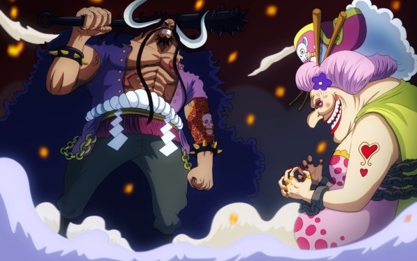 Anime One Piece Kaido Charlotte Linlin HD Wallpaper | Background Image