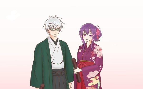 Anime Heaven's Lost Property Mikako Satsukitane Eishirō Sugata HD Wallpaper | Background Image