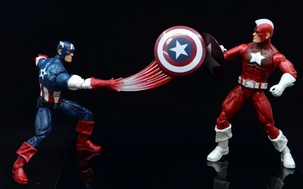 Man Made Toy Captain America Red Guardian HD Wallpaper | Background Image